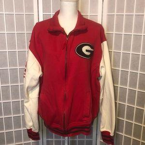 University of Georgia UGA Jacket letterman size XL